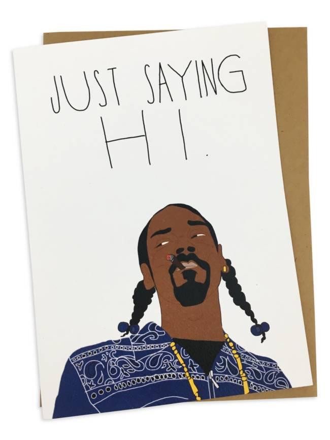 Greeting Card, Just Saying Hi