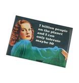 7 Billion People Magnet