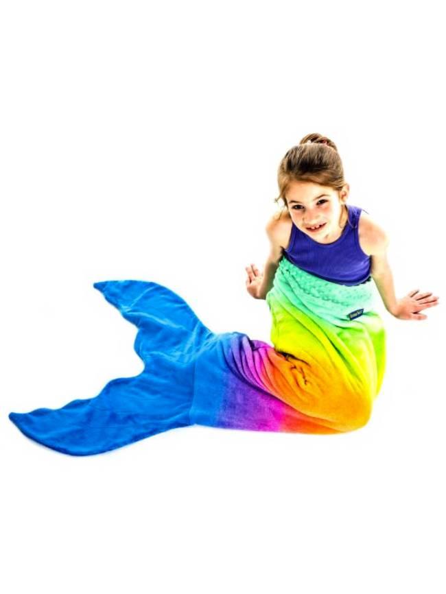 Rainbow Ombre Blankie Tail