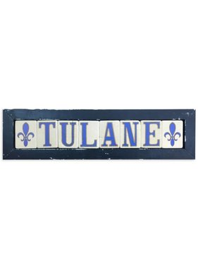 Tulane Framed Tile Art