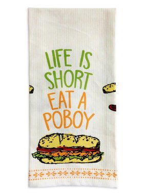 Eat A Poboy Towel