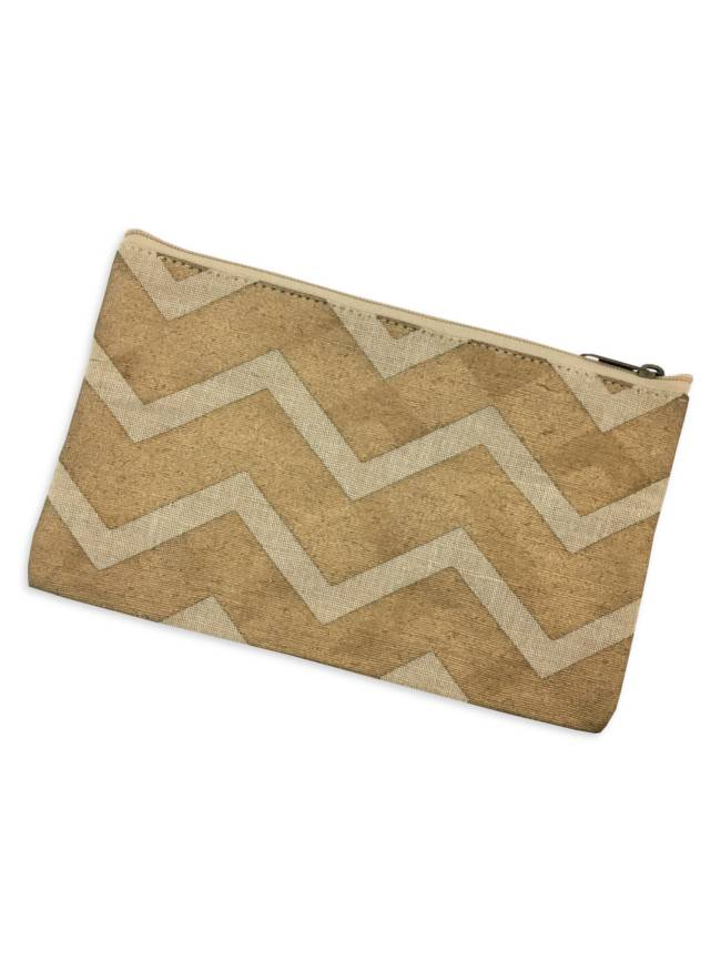 Glamour Chevron Cosmetic Bag