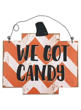 We Got Candy/Out Of Candy Reversible Sign