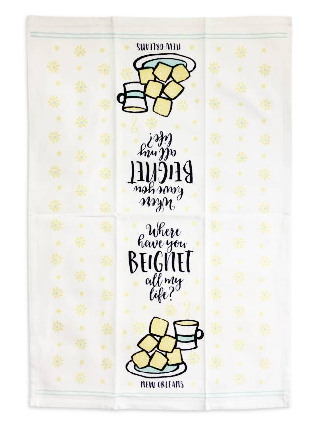 Where Have You Beignet All My Life? Towel