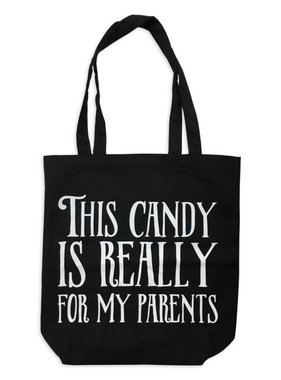 Candy For My Parents Halloween Tote
