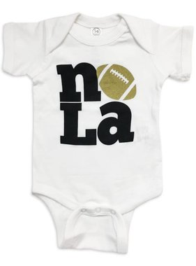 NOLA Love Football Onesie