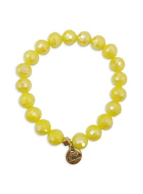 Yellow Sparkle Stretch Bracelet
