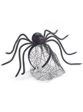 Spider Veil Halloween Headband