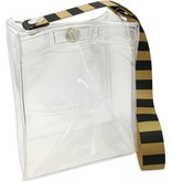 Clearware Classic Bag, Black & Gold