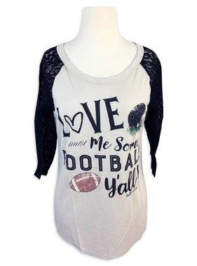 Love Me Some Football Long Sleeve Tee