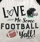 Love Me Some Football Long Sleeve Tee