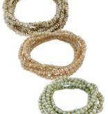 Beaded Stretch Wrap Bracelet