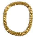 Gold Nepal Roll On Bracelet