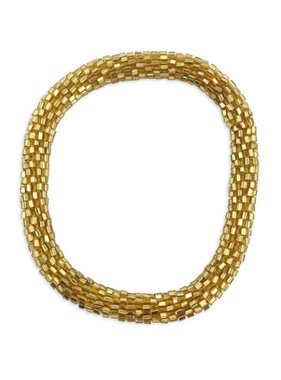 Gold Nepal Roll On Bracelet