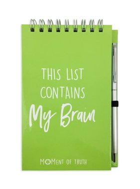 This List Contains My Brain Notepad With Pen