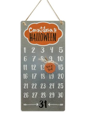 Countdown to Halloween Calendar