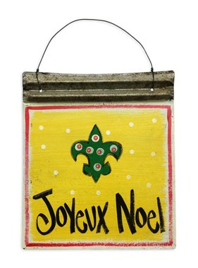 Joyeux Noel Christmas Metal Art