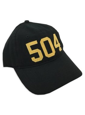 504 Hat in Black