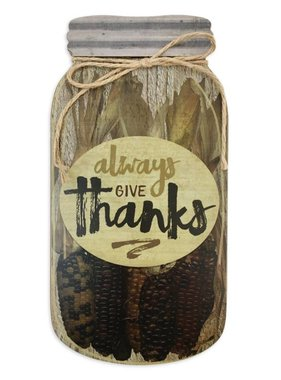 Always Give Thanks Wall Art