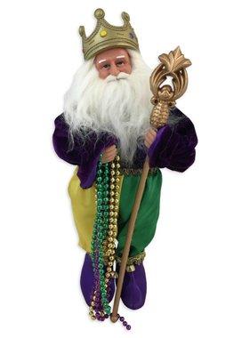 Mardi Gras Santa