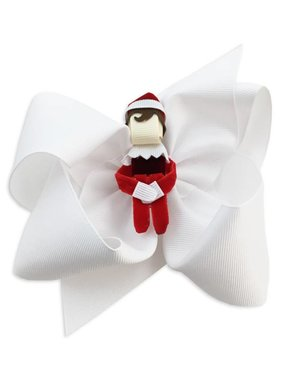 Boy Elf Christmas Hair Bow