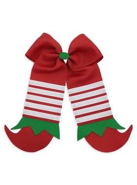Elf Shoes Hair Bow