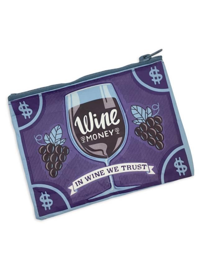 Wine Money Coin Purse