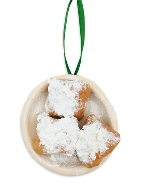 Plate O' Beignets Christmas Ornament