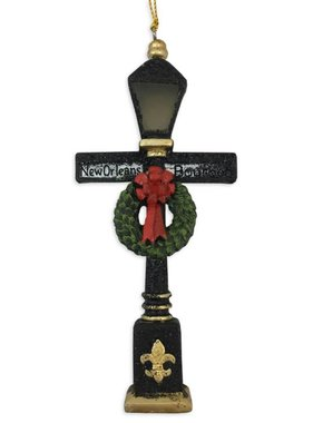 Bourbon Streetlight Christmas Ornament