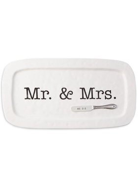 Mr. & Mrs. Wedding Hostess Tray Set