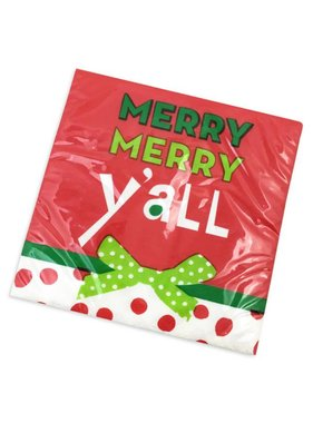 Merry Merry Y'all Christmas Napkins