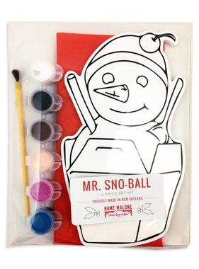 Mr. Snoball Art Kit for Kids