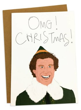 OMG Christmas Greeting Card