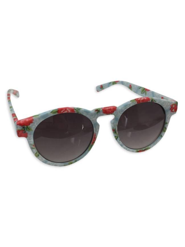 Light Floral Sunglasses