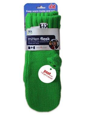 Green Mitten Flask