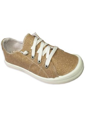 Neema Gold Tennis Shoes PRE-ORDER