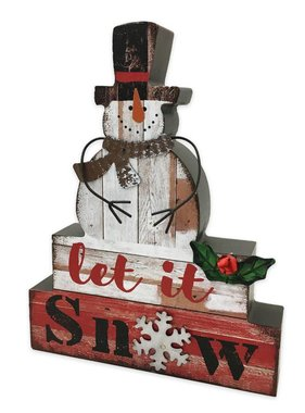 Let It Snow Tabletop Greeter