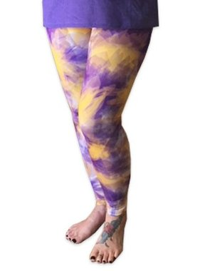 College Leggings, Tie-Dye