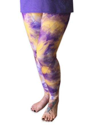 College Leggings, Tie-Dye