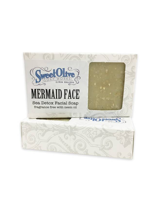Sweet Olive Soap Works Mermaid Face Soap Bar