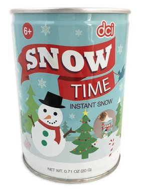 Can of Instant Snow
