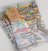 New Orleans Map Napkins, Set of 4