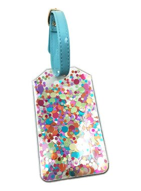 Confetti Luggage Tag