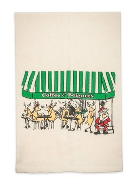 Coffee and Beignets Towel