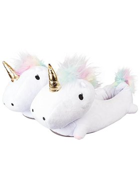 Unicorn Light Up Slippers for Adults