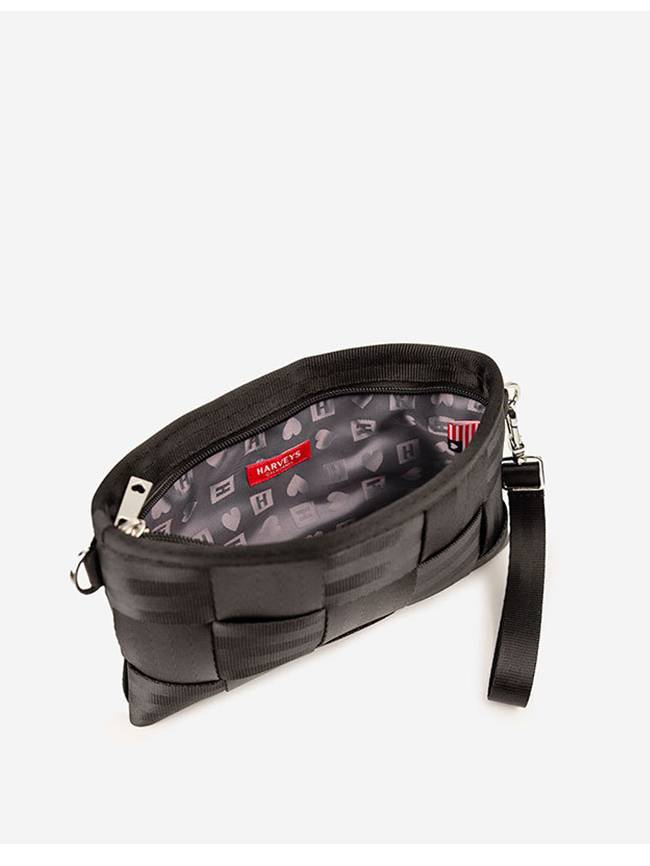 Harveys Seatbeltbag Black Hip Pack