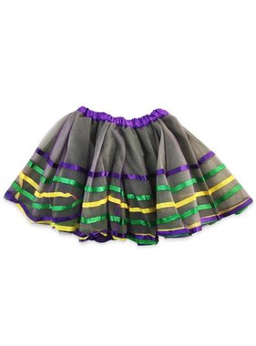 Mardi Gras Ribbon Tutu for Kids