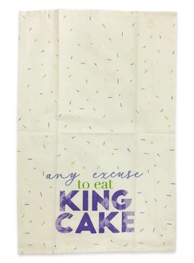 Any Excuse To Eat King Cake Towel