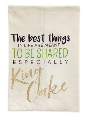 Shared King Cake Towel
