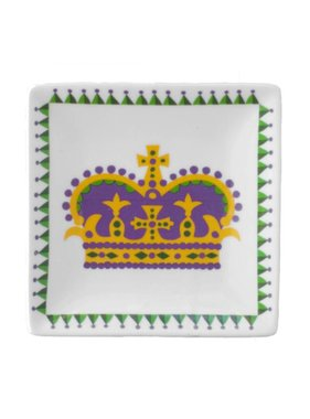 Mardi Gras Crown Trinket Tray